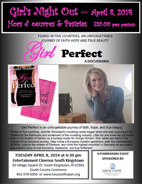 Girl Perfect Docudrama Flyer
